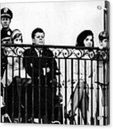 John F. Kennedy Jr. Gets A Closer Look Acrylic Print by Everett