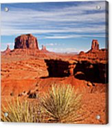 John Ford Point Monument Valley Acrylic Print