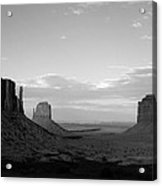 John Ford's Monument - Greeting Card Acrylic Print
