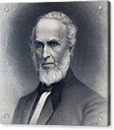 John Greenleaf Whittier 1807-1892 Acrylic Print