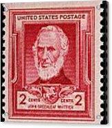 John Greenleaf Whittier Postage Stamp Acrylic Print
