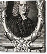 John Harris, English Writer Acrylic Print