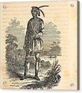 John Horse Was Born In 1812 In Florida Acrylic Print by Everett