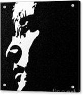 John Lennon Hi Contrast Acrylic Print