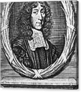 John Mayow (1640-1679) Acrylic Print