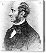 John Stuart Mill Acrylic Print