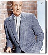 John Wayne, Ca. 1955 Acrylic Print by Everett