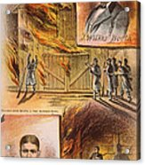 John W.booth (1835-1865) Acrylic Print