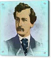 John Wilkes Booth, Assassin Acrylic Print
