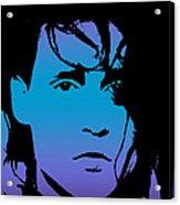 Johnny As Edward Acrylic Print