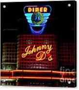 Johnny D's Acrylic Print