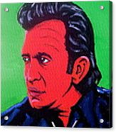 Johnny Pop Acrylic Print by Pete Maier
