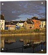 Johns Quay & River Nore, Kilkenny City Acrylic Print