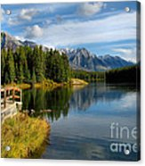 Johnson Lake Acrylic Print