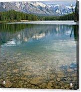Johnson Lake Rocks Acrylic Print