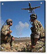 Joint Terminal Attack Controllers Call Acrylic Print
