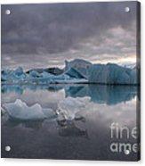 Jokulsarlon Glacier Iceland Acrylic Print