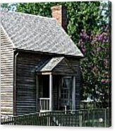 Jones Law Office Appomattox Court House Virginia Acrylic Print by Teresa Mucha