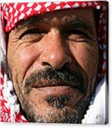 Jordanian Man Acrylic Print by Munir Alawi