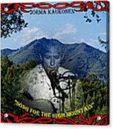 Jorma- Song For The High Mountain Acrylic Print