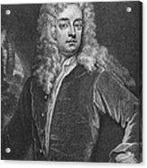 Joseph Addison (1672-1719) Acrylic Print
