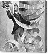 Joseph Pulitzer Acrylic Print by Granger