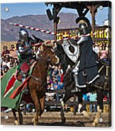 Joust To The End... Acrylic Print