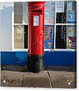 Jubilee Postbox Acrylic Print