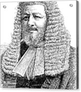 Judah Philip Benjamin Acrylic Print