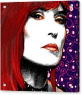 Judy Rose Acrylic Print