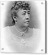 Julia Dent Grant (12826-1902) Acrylic Print by Granger