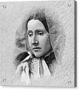 Julia Ward Howe (1819-1910) Acrylic Print by Granger