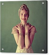 Julie Andrews, Mid-late 1950s Acrylic Print