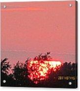 July 16 Sunset Four Acrylic Print