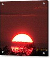 July 16 Sunset Six Acrylic Print