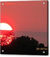 July 16 Sunset Three Acrylic Print