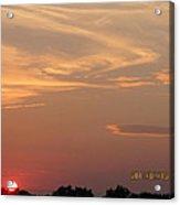 July 16 Sunset Two Acrylic Print