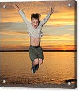 Jumping For Joy Acrylic Print