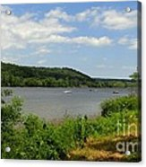June Along The Connecticut River Acrylic Print