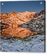 June Snowfall At Angel Lake Acrylic Print