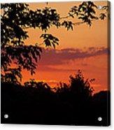 June Sunset Acrylic Print