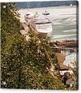 Juneau Alaska Acrylic Print