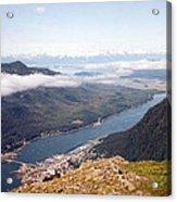 Juneau View Acrylic Print