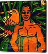 Jungle Pals Acrylic Print