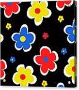 Junior Florals Acrylic Print