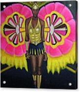Junkanoo Androsia Acrylic Print