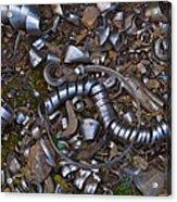 Junkyard Macro No. 16 Acrylic Print