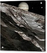 Jupiter From Ganymede, Artwork Acrylic Print