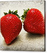 Just 2 Classic Berries Acrylic Print