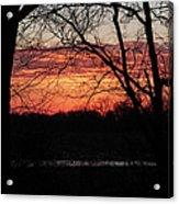 Just A Little Bit Higher -- Sunrise Acrylic Print